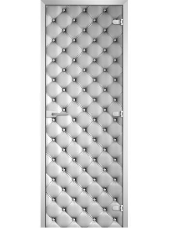 Стеклянная межкомнатная дверь Textures-12