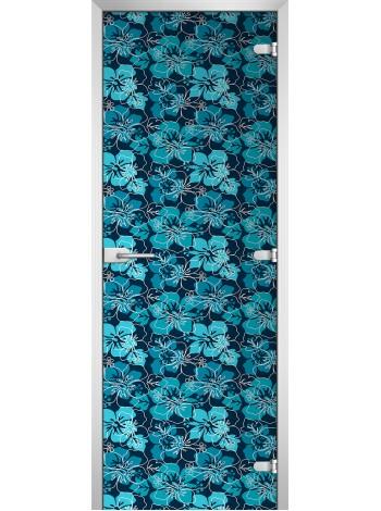 Стеклянная межкомнатная дверь Textures-14