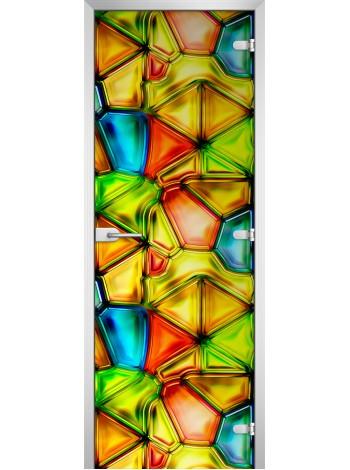 Стеклянная межкомнатная дверь Textures-15