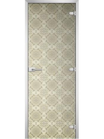 Стеклянная межкомнатная дверь Textures-17