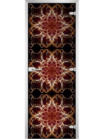 Стеклянная межкомнатная дверь Textures-18