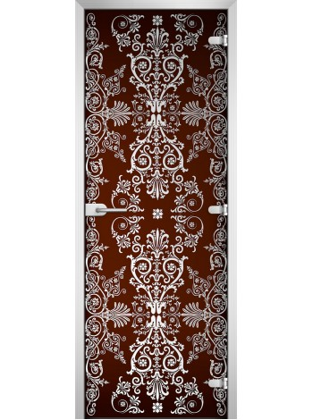 Стеклянная межкомнатная дверь Textures-19