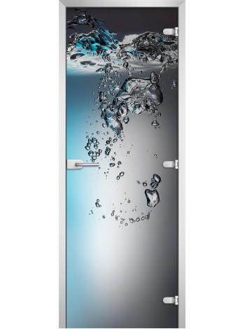 Стеклянная межкомнатная дверь Underwater World-01