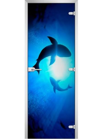 Стеклянное полотно с фотопечатью Underwater World-08