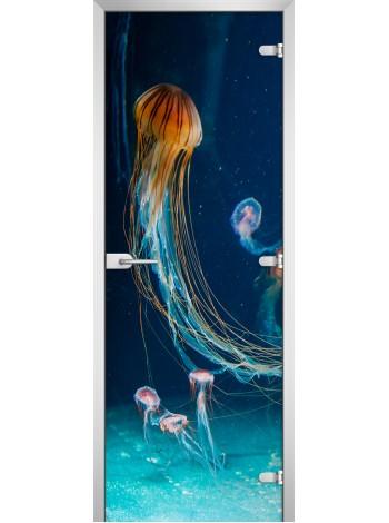 Стеклянное полотно с фотопечатью Underwater World-12