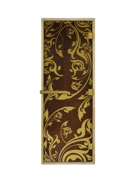 "Дверь ""Венеция Бронза Luxary Gold"" 1900*700"