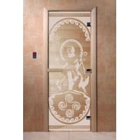 """Дверь """"Посейдон прозрачная"""""""