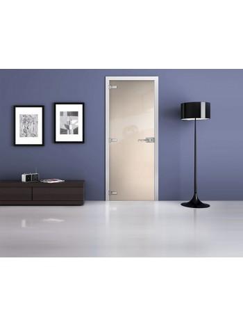 Межкомнатная стеклянная дверь Ral 9001