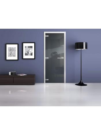Межкомнатная стеклянная дверь Ral 7031
