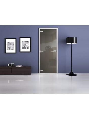 Межкомнатная стеклянная дверь Ral 7003