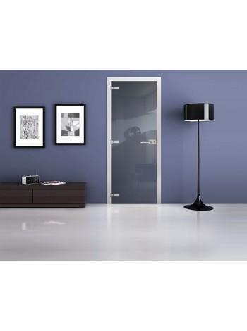 Межкомнатная стеклянная дверь Ral 5014