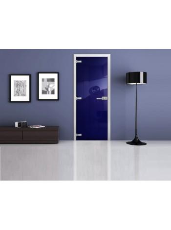 Межкомнатная стеклянная дверь Ral 5002