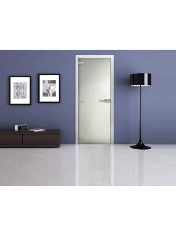 Межкомнатная стеклянная дверь Ral 9003