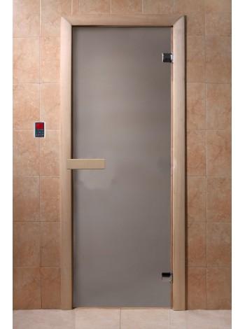"""Дверь """"Сатин"""" 1900*700, 6мм, 2 петли"""