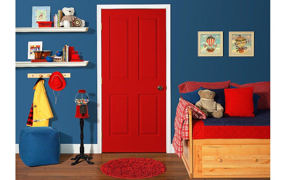 Какую дверь поставить в детскую