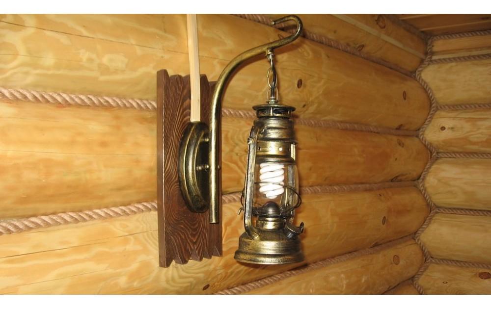 Выбираем светильник для бани или сауны
