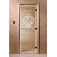 """Дверь """"Версаче прозрачная"""""""