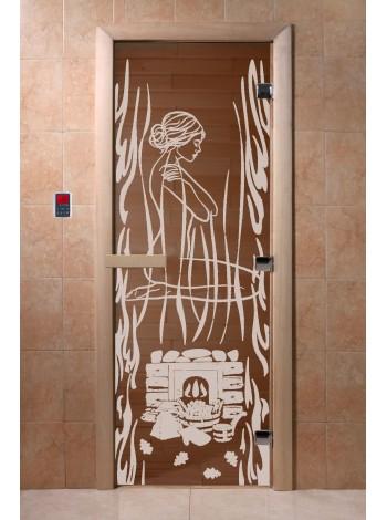 """Дверь """"Волшебный пар бронза"""""""