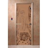 """Дверь """"Волшебный пар бронза матовая"""""""