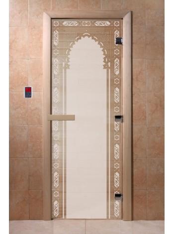 """Дверь """"Восточная арка сатин"""""""