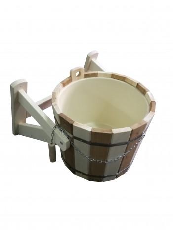 Обливное устройство зебра с пластиковой вставкой 16 литров
